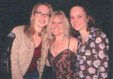 Ilene with Erin Torpey (Jessica) and Barbara Garrick (Allison), who attended the show